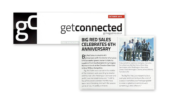getConnected - Big Red Sales celebrates 6th anniversary